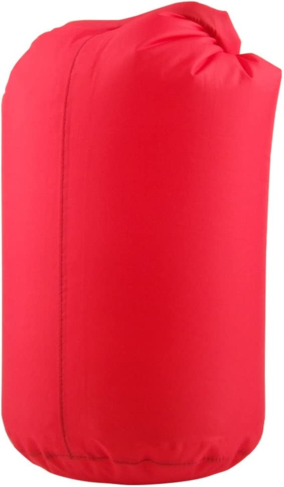 Rot 10L Wasserdichter Wickel Oben Kompressionssack Trocken Sack Trockenbeutel Dry Bag Sporttasche Fuer Camping Schwimm