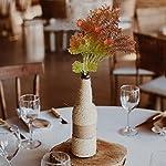 XYXCMOR Artificial Flowers Branch Faux Greenery Plants Long Stem Faux Leaf Tall Vase Table Outdoor Window Planter Centerpieces Arrangements Home Decoration 2pcs