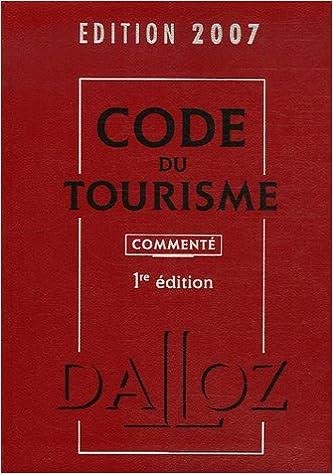 En ligne téléchargement gratuit Code du tourisme : Commenté pdf