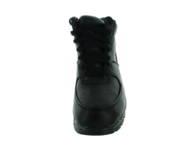 Amazon.com | Nike Kids Air Max Goadome (GS) Black/Black/Metallic Silver Boot  7Y | Hiking Shoes