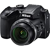 Nikon Coolpix B500 Wi-Fi Digital Camera (Black) - (Certified Refurbished)