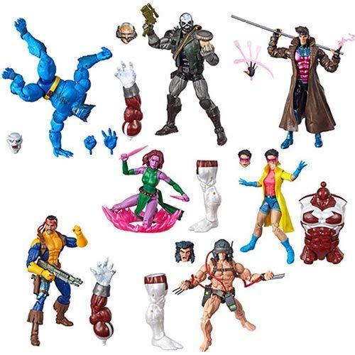 (X Men Marvel Legends Wave 4 Set of 7 Figures (Caliban BAF) )