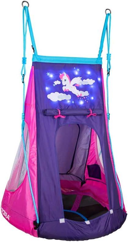 Nestschaukel mit Zelt - Nestschaukel Zelt - Hudora Zelt für Nestschaukel