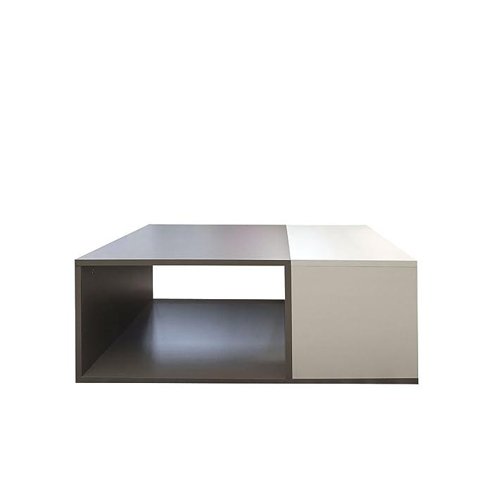 1 opinioni per Wood & Colors, Dakota A, Tavolino, Multicolore (Bianco/Marrone), 34 x 89 x 67 cm