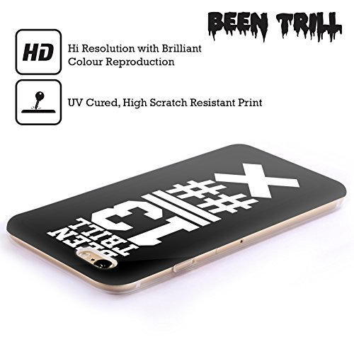 Official Been Trill Black X Jersey Soft Gel Case for Apple iPhone 5c