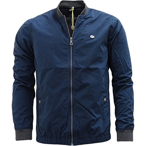 Threadbare - Chaqueta - chaquetas - Básico - Manga Larga - para hombre azul marino