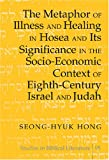 The Metaphor of Illness and Healing in Hosea and Its Significance in the Socio-Economic Context of Eighth-Century Israel and Judah, Hong, Seong-Hyuk, 0820481556