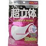 unicharm(ユニ・チャーム) ユニ・チャーム 超立体マスク かぜ・花粉用 小さめサイズ 7枚入