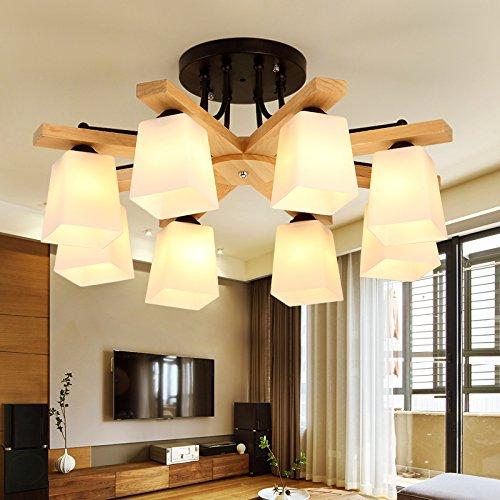 yxhflo la techo luz nórdicos habitaciones dormitorio luz ...