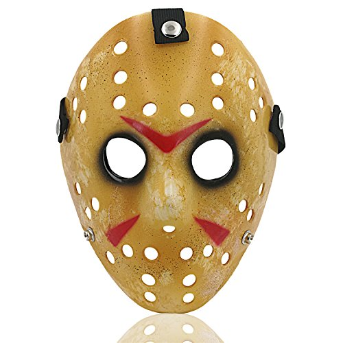 ALIZIWAY Costume Mask Halloween Cosplay Costume Horror Hockey Mask 08