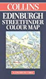 Collins Edinburgh Streetfinder Colour Map