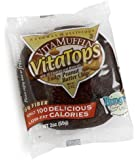 Vitalicious VitaMuffin VitaTops, Fudgy Peanut Butter Chip, 2-Ounce Packages (Pack of 24)