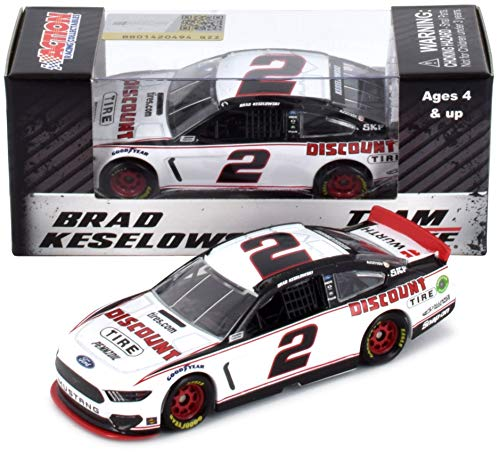 (Lionel Racing Brad Keselowski #2 Tire Companies 2019 Ford Mustang NASCAR Diecast 1:64 Scale)