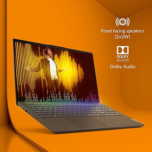 Lenovo IdeaPad Slim 5i 11th Gen Intel Core i5 15.6-inch FHD IPS Thin & Light Laptop (8GB/1TB HDD + 256GB SSD/Windows10/Office 2019/Fingerprint Reader/Graphite Grey/Aluminium Surface/1.66Kg) 82FG00BQIN