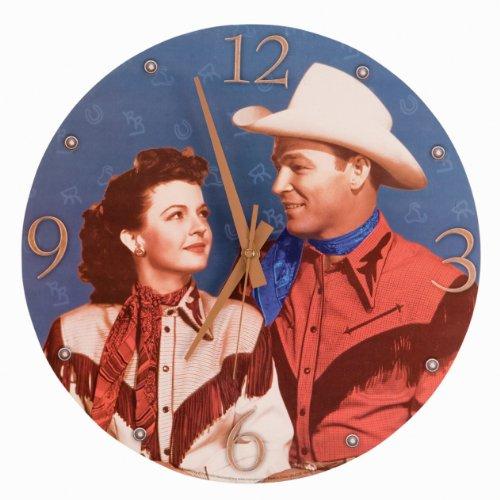 Roy Rogers Wall Clock by Vandor Lyon Company - Jumbo