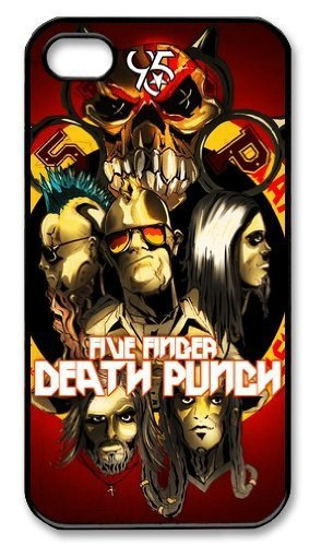 Generic Five Finger Death Punch Back Phone Case for iPhone 6 4.7 inch