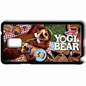 Personalized Samsung Note 4 Cell phone Case/Cover Skin 2010 yogi bear movies Black