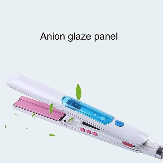 Nano agua de reposición ion anión recubrimiento por pulverización de pelo rizado recta: Amazon.es: Salud y cuidado personal