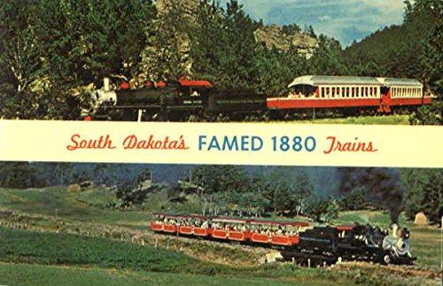 - South Dakota's Famed 1880 Trains Scenic Original Vintage Postcard