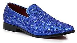 Rhinestone Designer Loafers