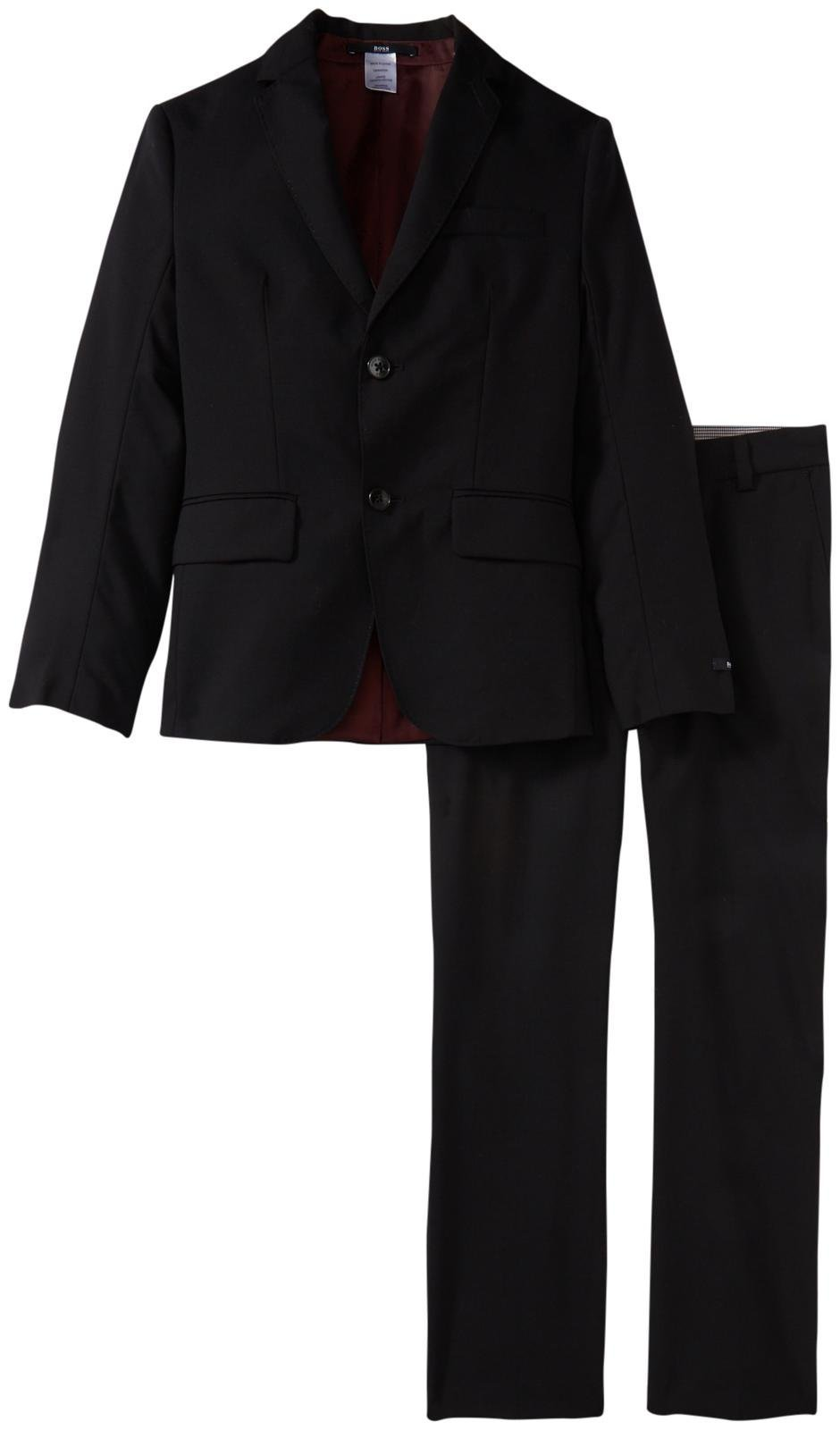 Hugo Boss Boys Essential Suit, Black, 5A by Hugo Boss