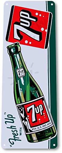 tin-sign-7-up-fresh-up-bottle-b384