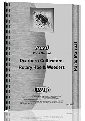 Dearborn 13-5, 13-9 Weeder Attachment Parts Manual (Plastic Weeder)