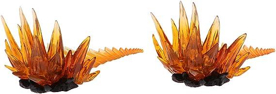 Figuarts Tamashii 2 stücke Anime Figures Stand Explode Effekt für Z S.H