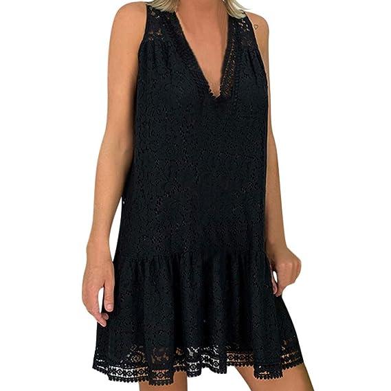 Vestido Vintage Mujer Sasstaids El Verano Vestido Lino