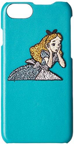 아코모데 Accommode [Disney] 디즈니 자수 iPhone케이스 백 커버 미키마우스 미니 마우스 불가사의의 나라의 앨리스 최《샤》묘 다이나 iPhone8/7/6s/6대응 D-ST081