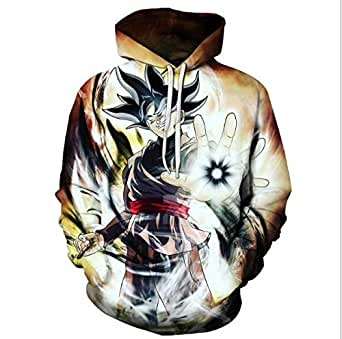 DRAGON BALL anime printing fashion cotton hoodie round collar long sleeve leisure sweatshirt sport hoodie