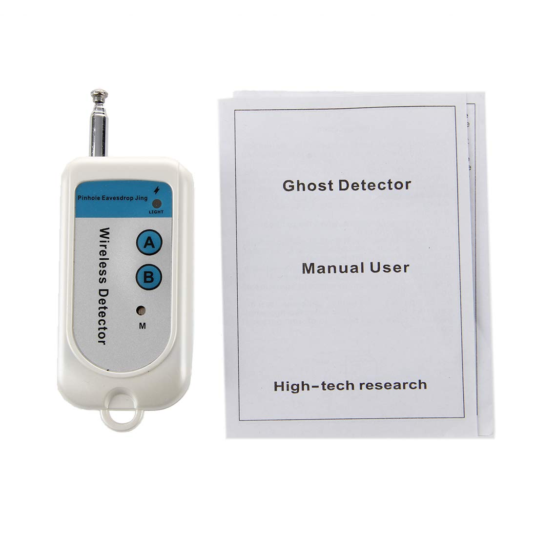 SODIAL(R) Detector Camara con Microfono Oculto Contra Espionaje: Amazon.es: Electrónica