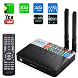 The Best Working CSA93 Amlogic S912 Octa Core Android 6.0 TV Box 3GB RAM 32GB ROM TV Box 2.4GHZ&5.8GHZ Dual WIFI CSA93 Streaming Smart Media Player-Black