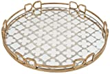 A&B Home Round Tray, 18 2-Inch