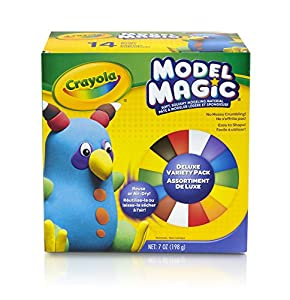 Crayola Model Magic Deluxe Variety Pack, 14/Pack, Net .7 Ounce