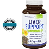 Natural-Liver-Detox-Solarplast-Pure-Milk-Thistle-Complex-Potent-Enzymes-for-Protein-and-Fat-Digestion-Liver-Cleanse-Supplement-for-Men-Women-60-Veggie-Caps-Guaranteed-By-Huntington-Labs