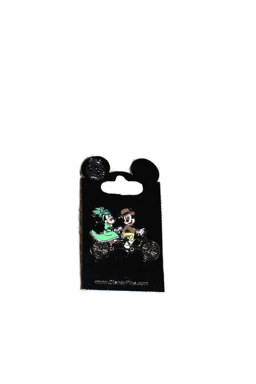 Disney Pins Mickey and Minnie Tandem Bike Pin 2015