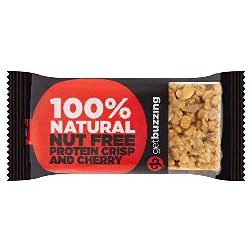 - Getbuzzing Nut Free Cherry Protein Bar - 62g