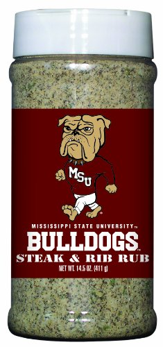 3 Pack MISSISSIPPI STATE Bulldogs Steak & Rib Rub