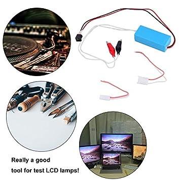 12 V CCFL lámpara inversor probador para LCD TV portátil Pantalla ...