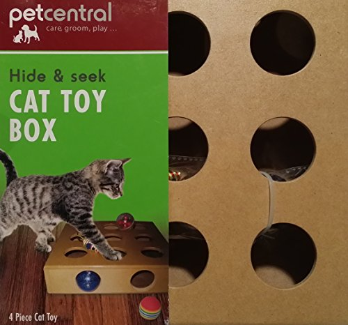 pet-central-hide-seek-cat-toy-box-with-3-balls-and-a-mouse-toy