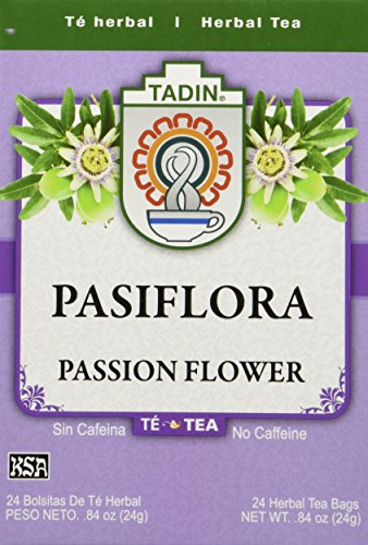 Tadin Tea, Pasiflora - Passion Flower Tea, 24 Tea Bags