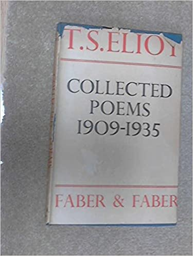 Collected Poems 1909 1935 Amazones T S Eliot Libros