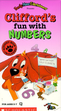 amazon co jp clifford clifford s fun with numbers vhs import
