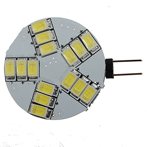 G4 4W LED Ampoule - SODIAL(R)4 X G4 15SMD 5630 LED 12V Spot Ampoule Lampe 330-360LM Blanc Froid
