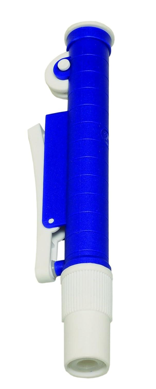 Red 25 mL Argos Technologies P5225 Manual Pipette Pump