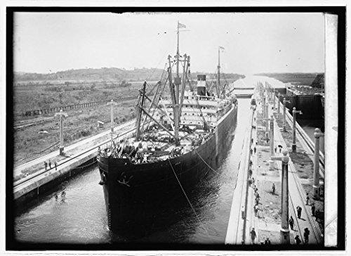 (Vintography Reproduced 8 x 10 Photo of: Panama Canal. Gatun Lock 1914 National Photo Company)