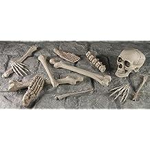 Yikes in the Yard Bag Of Bones Realistic Skeleton Halloween Prop - 12 pieces