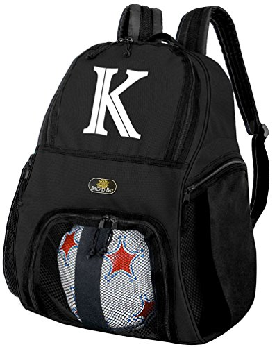 Broad Bay Personalized Soccer Backpack Soccer Practice Bag ()