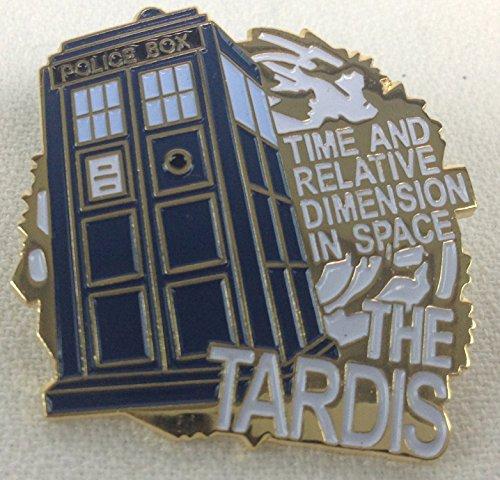 Doctor Who Danbury Mint UK Exclusive TARDIS Collectors Pin -